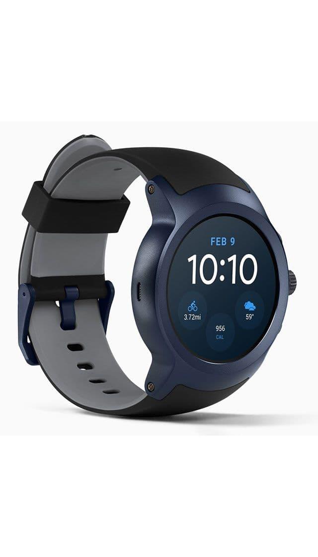 cd36bddef106 LG Watch Sport W280 Dark Blue купить умные часы, сравнить цены в ...