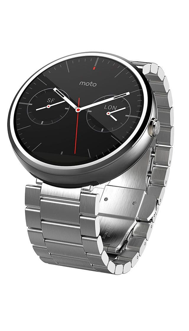 Motorola Moto 360 (1st gen) Light Metal buy smartwatch ...
