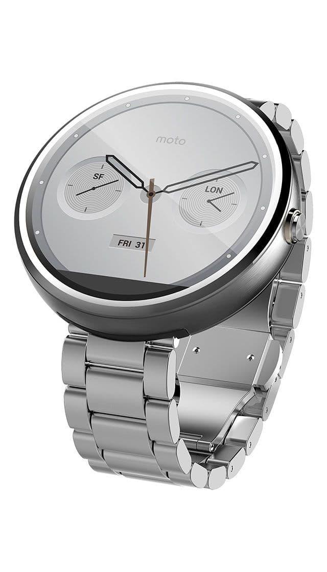 Motorola Moto 360 (1st gen) Natural Metal buy smartwatch ...