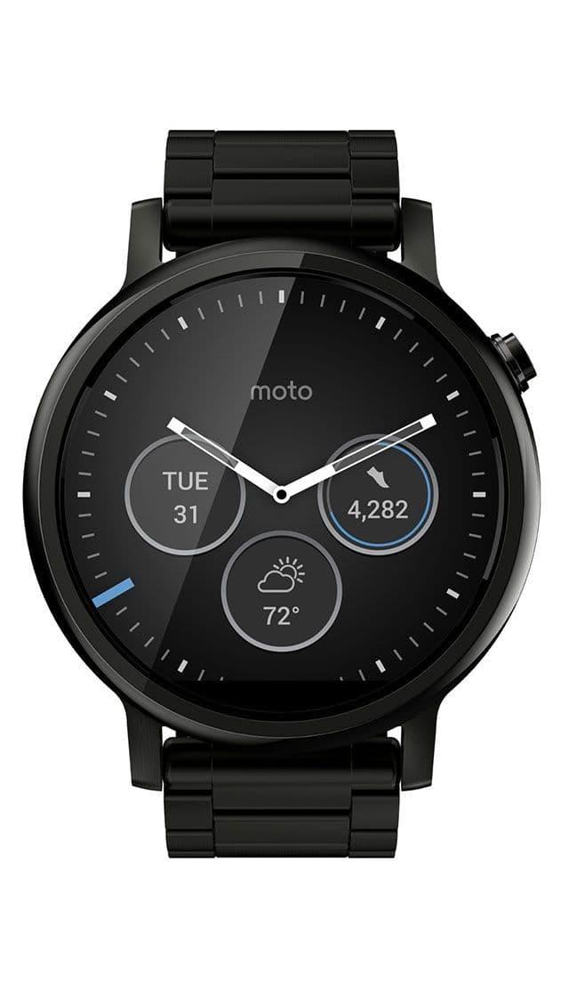 Motorola Moto 360 46mm (2nd gen) Black buy smartwatch ...