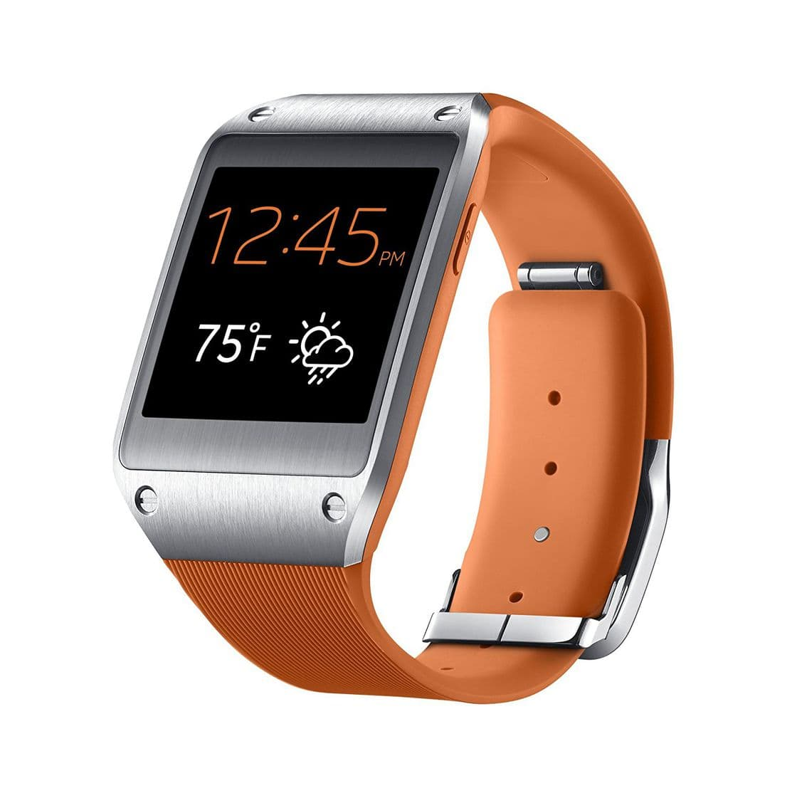 Samsung Galaxy Gear Wild Orange buy smartwatch, compare ...